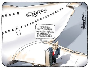 If I was President and my homies had a jet then sure, they can land wherever they want